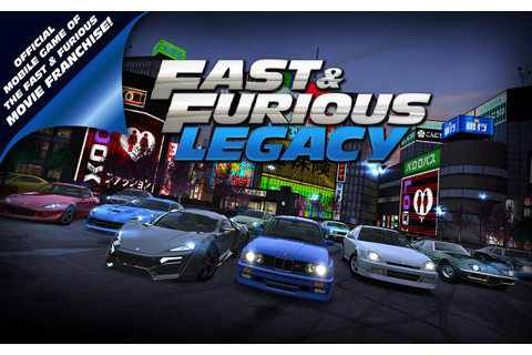 Fast and Furious Legacy Gaming Wallpapers And Trailer ...