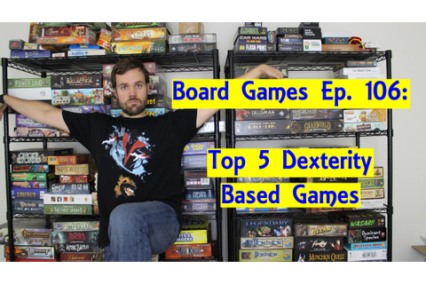 Top 5 Board Games Using Dexterity - YouTube