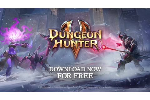 Dungeon Hunter 5: Frozen Bastion Game Trailer - YouTube
