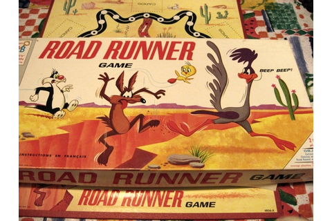 Road Runner Game1968 Milton Bradley Somerville English French