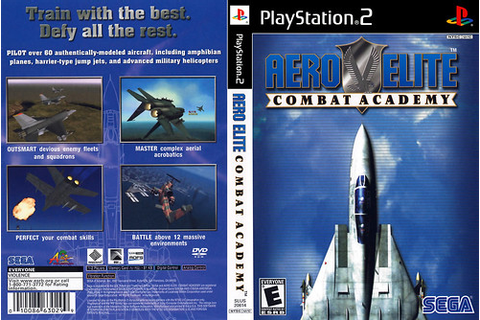 Aero Elite - Combat Academy (NTSC-USA) | Game Cover PS2 ...
