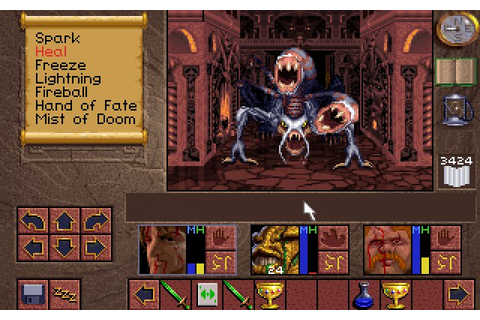 Lands of Lore: The Throne of Chaos Screenshots for DOS ...