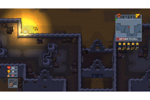 The Escapists 2: new map revealed (Rattlesnake Springs ...