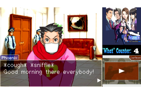 Let's Play Phoenix Wright: Ace Attorney: Trials ...