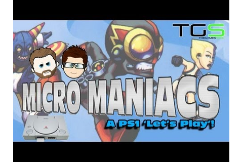 Lets Play Micro Maniacs - PS1 - Mark VS Jamie - Battle 76 ...
