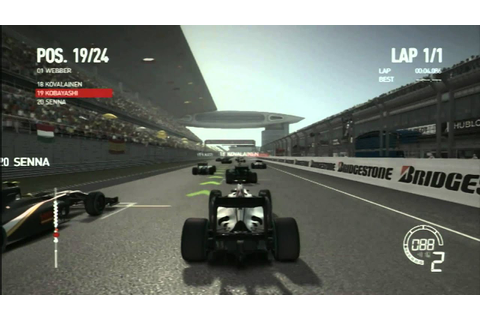 CGR Undertow - F1 2010 for Playstation 3 Video Game Review ...