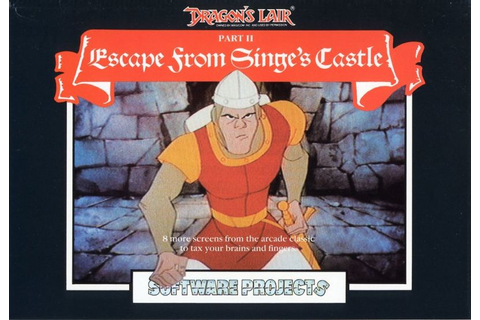 Dragon's Lair Part II: Escape from Singe's Castle for ...