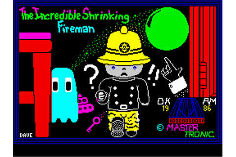 Download Incredible Shrinking Fireman (ZX Spectrum) - My ...