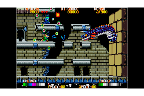 Arcade Archives PSYCHO SOLDIER on PS4 | Official ...