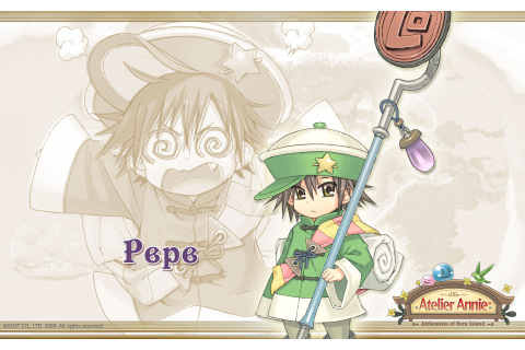 Atelier Annie Alchemists of Sera Island Wallpaper 004 Pepe ...