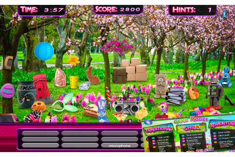 Amazon.com: Hidden Object – Spring Gardens & Objects Time ...