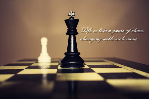 #Life is a like game of #Chess, changing with each move ...