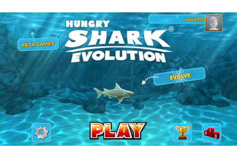 Hungry Shark Evolution PC Game play - YouTube