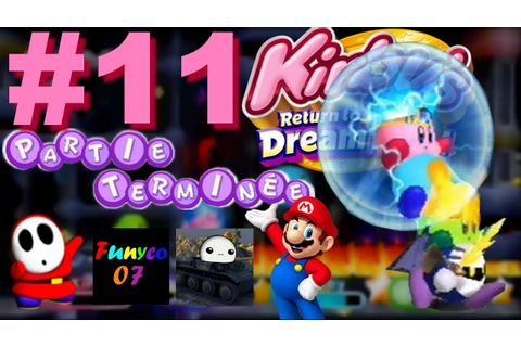 Let's Play 11 Kirby Adventure Wii La coopération ou le ...