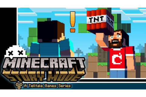 MINECRAFT Story Mode: A TELLTALE Game...What the X_x - YouTube
