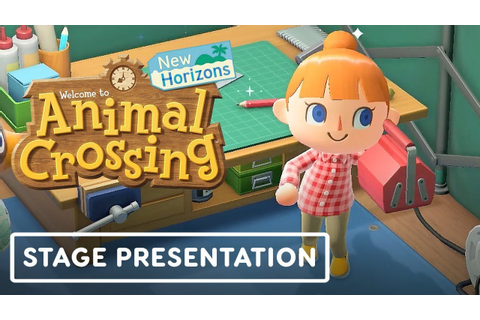 Animal Crossing New Horizons Full Gameplay Presentation ...