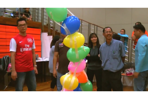 Balloon Tower Game - Team Building - YouTube