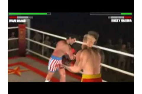 Rocky Balboa PSP Game Trailer - YouTube