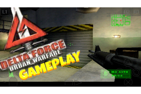 DELTA FORCE : URBAN WARFARE : GAMEPLAY PS1 - YouTube
