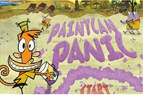 PAINTCAN PANIC - CAMP LAZLO GAMES