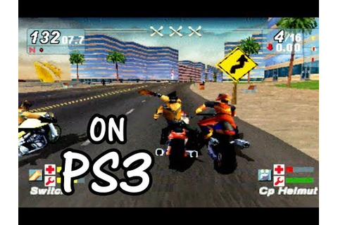 ROAD RASH JAILBREAK Gameplay The Most Funny Games PS1 on ...