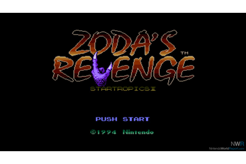 Zoda's Revenge: Star Tropics II - Game - Nintendo World Report