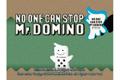 Super Adventures in Gaming: No One Can Stop Mr. Domino ...