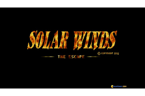 Solar Winds gameplay (PC Game, 1993) - YouTube