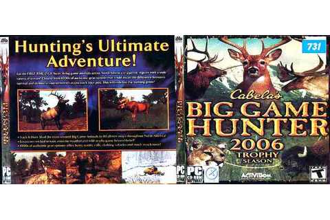 CABELAS BIG GAME HUNTER 2006 TROPHY SEASON - PC - Imagen ...