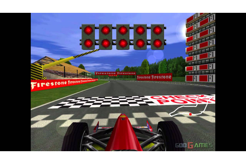 F1 Racing Championship - Gameplay Dreamcast HD 720P - YouTube