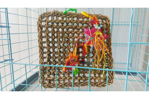 Parrot Bird Toys To Climb Network Netting Rock Climbing ...