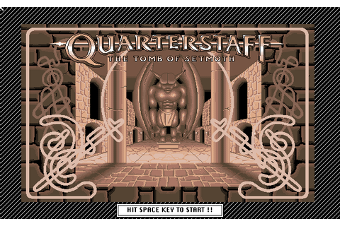 Quarterstaff: The Tomb of Setmoth (1990) NEC PC9801 game