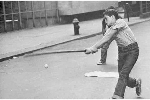 Child's play: Informal baseball games a rarity