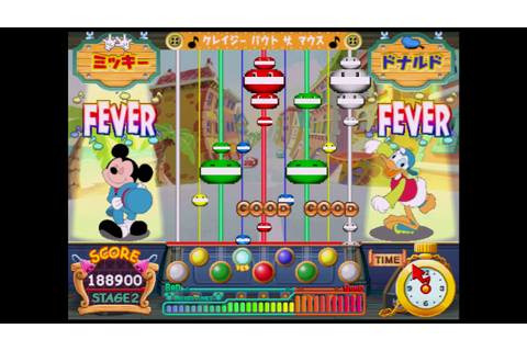 pop'n music MICKEY TUNES! マスターコース - YouTube