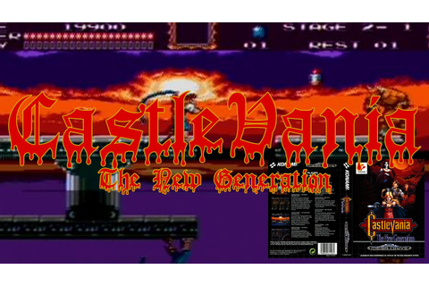 Lazy Play Castlevania The New Generation For The Sega ...