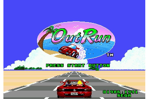 Sega Scrutiny: Genesis Game Reviews: OutRun