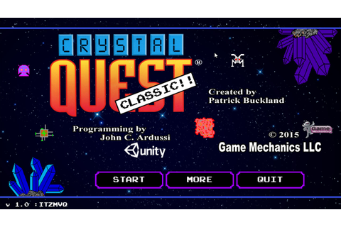Crystal Quest Classic Windows, Mac game - Mod DB