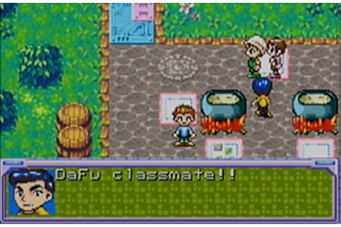 Pirate Game of the Week 016: Digimon Rury (GBA)