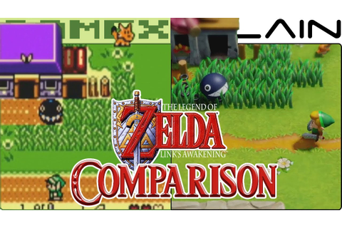 Zelda: Link's Awakening Graphics Comparison (Nintendo ...