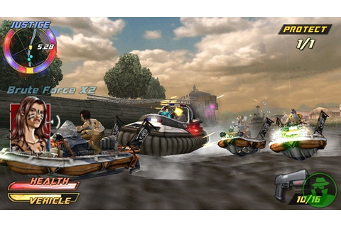 Pursuit Force Extreme Justice ISO PPSSPP - isoroms.com