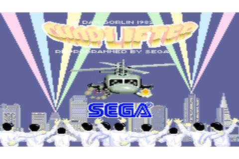 Choplifter 1985 Sega Mame Retro Arcade Games - YouTube