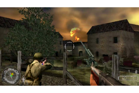 Call of Duty: Les Chemins de la Victoire (PSP) [HD/FR ...
