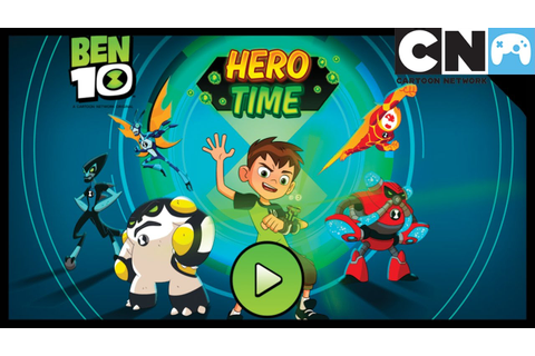 Ben 10 Games | Hero Time App Gameplay | Cartoon Network ...
