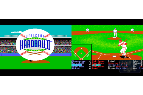 HardBall II : Hall Of Light – The database of Amiga games