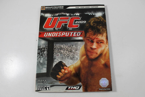 UFC 2009 UNDISPUTED OFFICIAL STRATEGY GUIDE (BRADY GAMES)