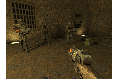 Ray Tracey's blog: Real-time path traced Quake 2