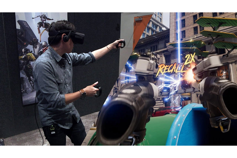 Hands-On: Epic Games Robo Recall for Oculus Touch - YouTube