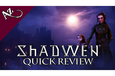 Shadwen - Quick Game Review - YouTube