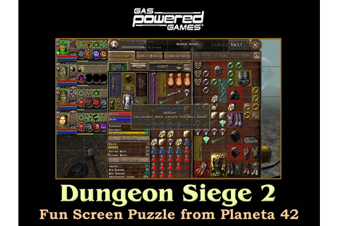 Dungeon Siege 2 | Fun Screen Puzzle