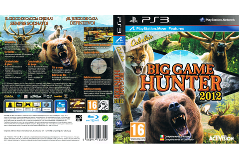 BLES01411 - Cabela's Big Game Hunter 2012